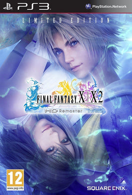 PLAYSTATION 3 NEW Seal Game FINAL FANTASY X X-2 LIMITED EDITION HD REMASTER PS4