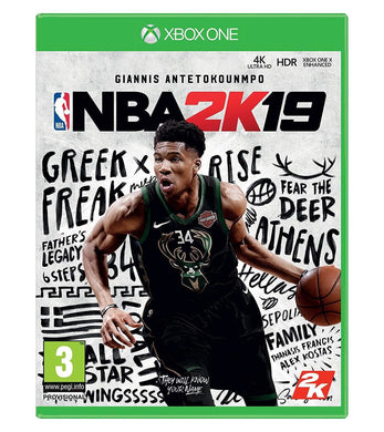 NBA 2K19 - 4K XBOX ONE X ENHANCED