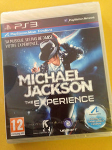 MICHAEL JACKSON EXPERIENCE - FRENCH Packaging