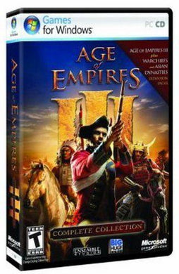 PC NEW Game * AGE OF EMPIRES III 3 - The Complete Collection * NEW Box Dam