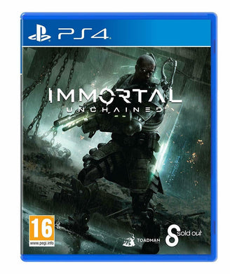 * Playstation 4 NEW SEALED Game * IMMORTAL UNCHAINED * PS4