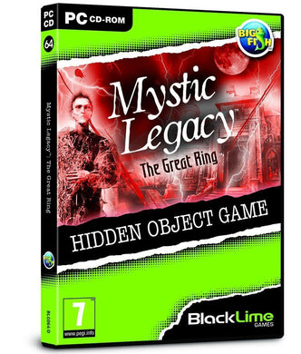 BUndle of 25  PC NEW SEALED Games * MYSTIC LEGACY  THE GREAT RING
