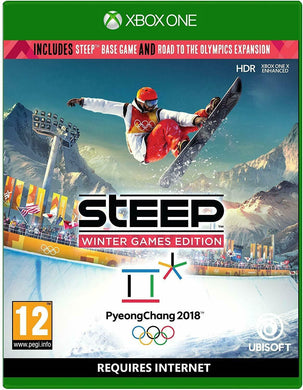 * XBOX ONE NEW SEALED Game * STEEP - Winter Games Edition inc Olympics Expansion
