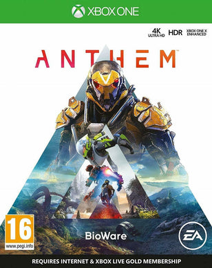* XBOX ONE NEW SEALED Game * ANTHEM *    4K HDR Xbox One X Enhanced