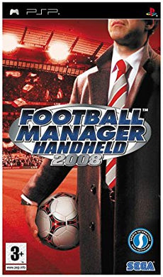 FOOTBALL MANAGER HANDHELD 2008 - SLEEVE TEAR