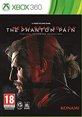METAL GEAR SOLID V PHANTOM PAIN - BOX SLEEVE DAMAGE
