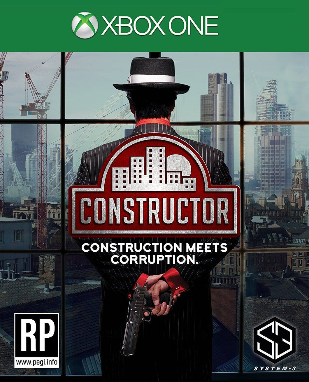 CONSTRUCTOR: Construction meets Corruption - DUTCH/FRENCH Packaging