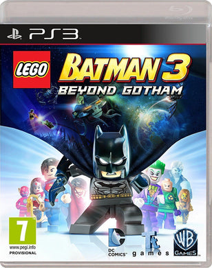 * PLAYSTATION 3 NEW SEALED Game * LEGO BATMAN 3  BEYOND GOTHAM * PS3