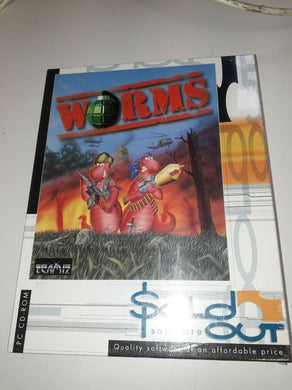 PC DVD ROM NEW SEALED Game * WORMS * BIG BOX