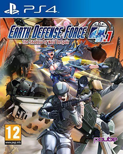 EARTH DEFENSE FORCE 4.1: Shadow New Despair