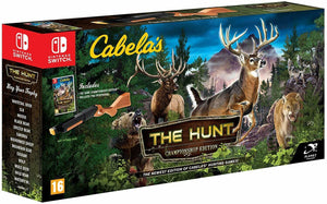 * Nintendo Switch New Game * CABELA'S THE HUNT CHAMPIONSHIP EDITION with GUN *