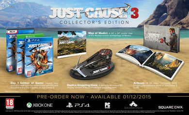 Just Cause 3 Collectors Edition | Xbox One New (4)