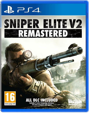 * PLAYSTATION 4 NEW SEALED Game * SNIPER ELITE V2 Remastered inc all DLC * PS4