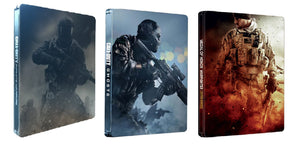 CALL OF DUTY INFINITE WARFARE + GHOSTS + MEDAL OF HONOR STEELBOOK BUNDLE