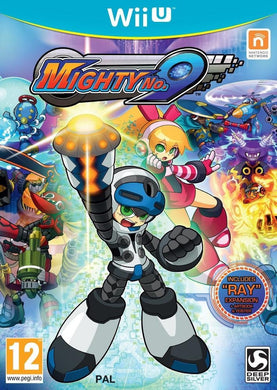 MIGHTY No.9 includes RAY Expansion +Book SPANISH PACKAGING