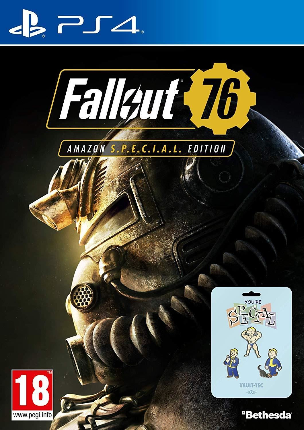 FALLOUT 76 - Special Edition with Pin Badge Set
