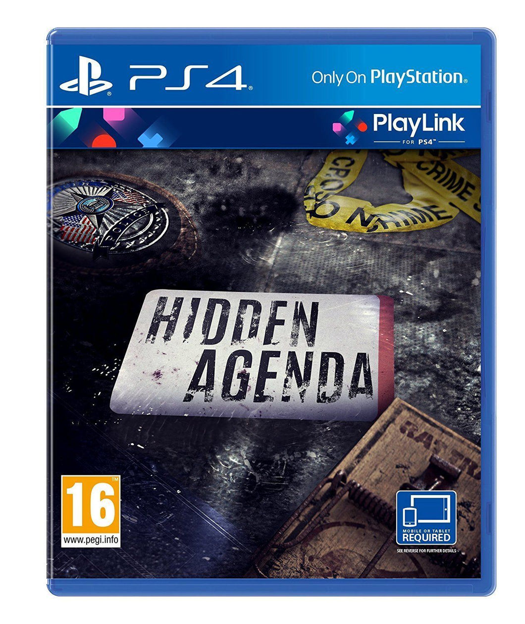 HIDDEN AGENDA - Playlink Game