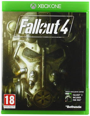 FALLOUT 4 - also includes Fallout 3 - box DAMAGED
