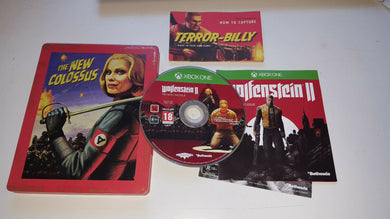 * XBOX ONE Game * WOLFENSTEIN II 2 The New Colossus STEELBOOK Edition