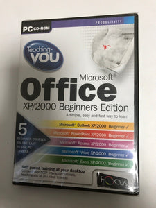 TEACHING YOU MICROSOFT OFFICE XP/2000 BEGINNERS EDITION