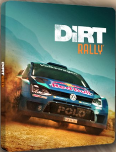 DIRT RALLY STEELBOOK - NO GAME
