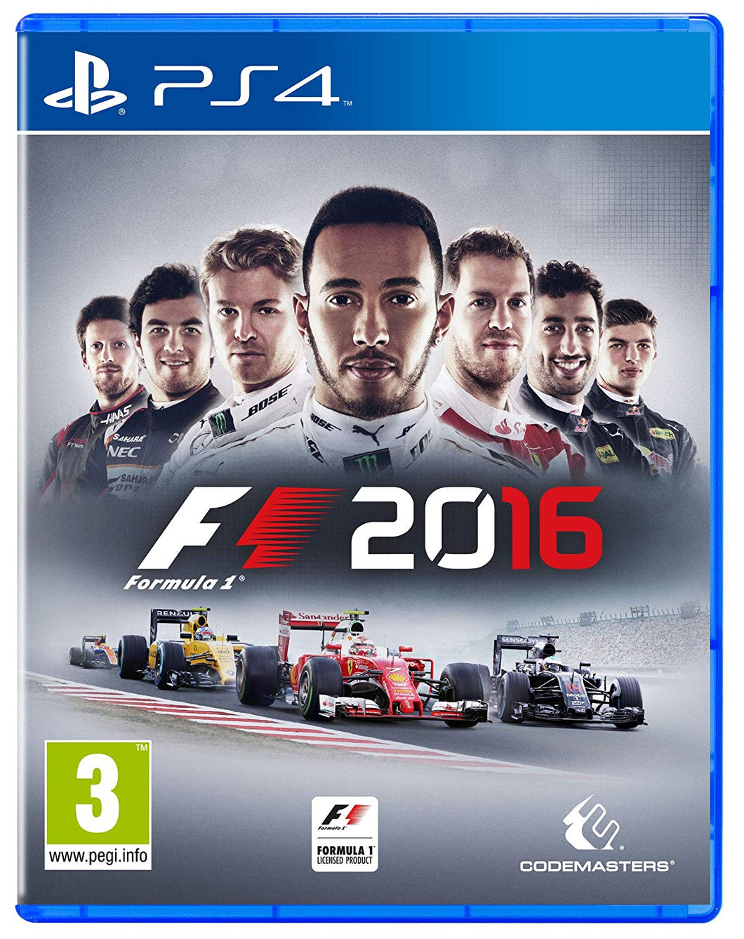 F1 2016 - EU PACKAGING
