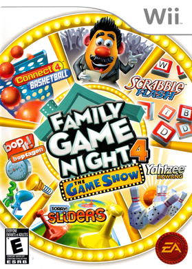 FAMILY GAME NIGHT 4 - THE GAME SHOW - NTSC NOT PAL