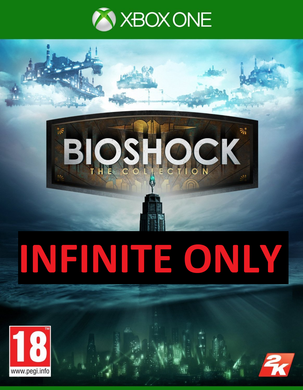 BIOSHOCK INFINITE HD DISC ONLY