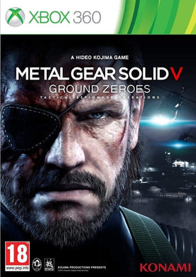 METAL GEAR SOLID V - GROUND ZEROES - Box Damage