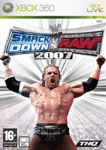 Load image into Gallery viewer, WWE SMACKDOWN VS RAW 2007 - No Manual