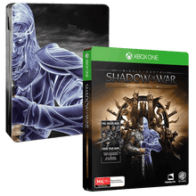 Load image into Gallery viewer, MIDDLE EARTH: SHADOW OF WAR - Steelbook Editon (No Slip Case)