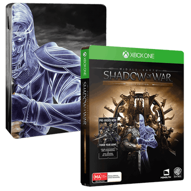 MIDDLE EARTH: SHADOW OF WAR - Steelbook Editon (No Slip Case)
