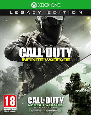 * XBOX ONE * NEW SEALED Game * CALL OF DUTY INFINITE WARFARE Legacy Edition