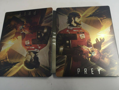 * PREY * Steelbook Case * NO GAME * for PC PS4 Xbox One etc