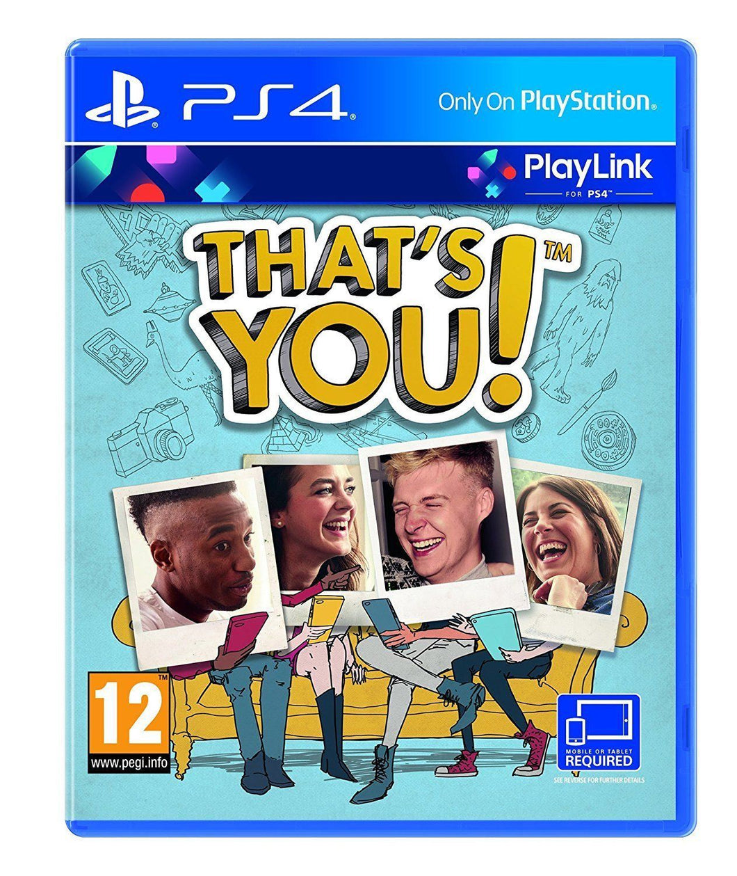 THAT'S YOU! - Playlink Party Game