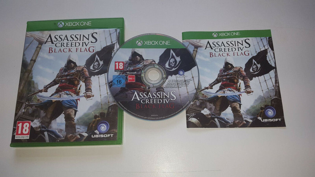 * XBOX ONE Game * ASSASSIN'S CREED IV BLACK FLAG *