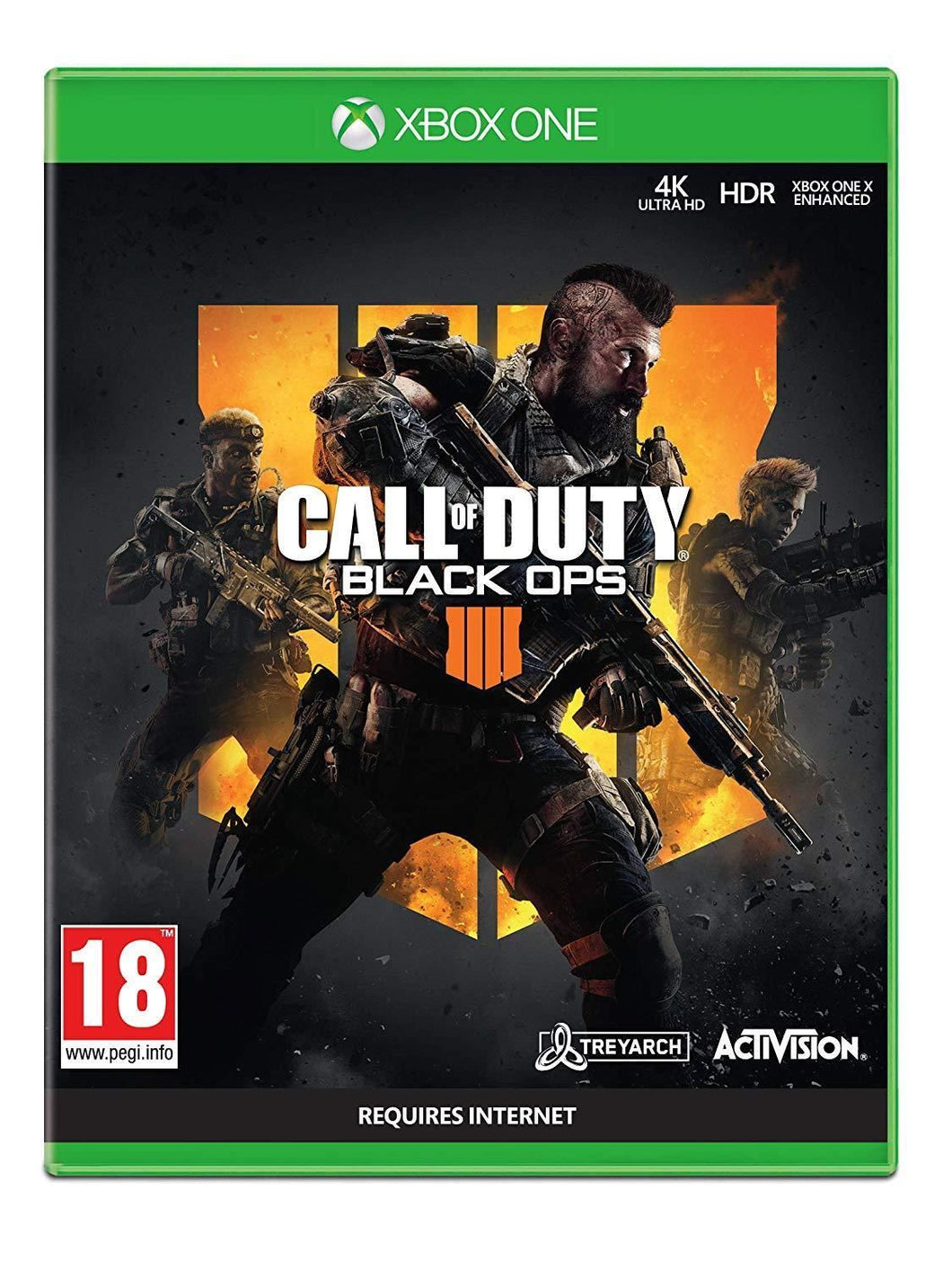 CALL OF DUTY: BLACK OPS 4 - 4K HDR XBOX ONE X ENHANCED