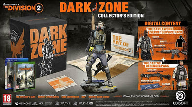 XBOX ONE NEW SEALED Game Tom Clancy THE DIVISION 2 DARK ZONE COLLECTOR'S EDITION