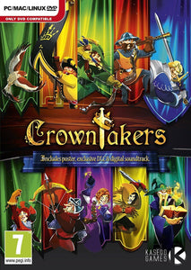 CROWNTAKERS - With Poster And Digital Soundtrack