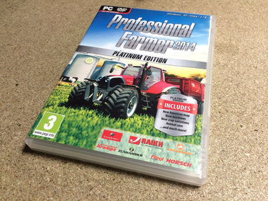 * PC NEW Game * PROFESSIONAL FARMER 2014 PLATINUM EDITION *