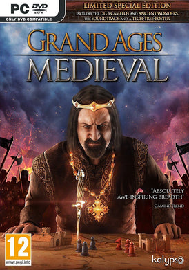 GRAND AGES MEDIEVAL - Limited Ed with Soundtrack & Poster
