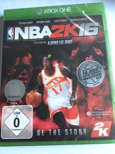 NBA 2k16 Basketball - Early Tip-Off Edition - EU Packaging