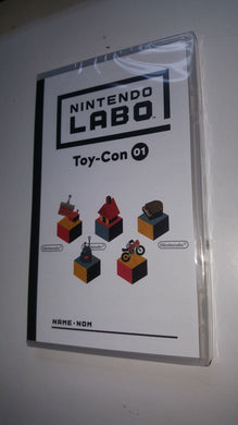 NINTENDO LABO * TOY CON 01 GAME for Nintendo SWITCH Variety Pack * NEW Game Only
