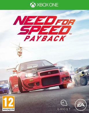 * XBOX ONE NEW SEALED Game * NEED FOR SPEED PAYBACK * Xbox One X Enhanced