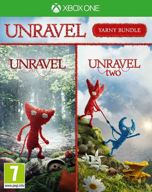 * XBOX ONE NEW SEALED Game * UNRAVEL Yarny Bundle * 1 & 2 TWO Double Pack