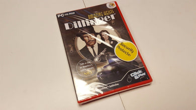 PC NEW SEALED Game * AMAZING HEISTS DILLINGER *