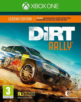 DIRT RALLY Legend Edition includes BLU RAY + MINI DLC