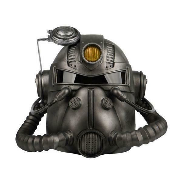 FALLOUT 76 Wearable T-51B POWER ARMOR HELMET With Voice Changer & Light NEW