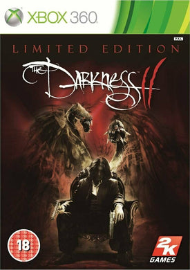 * Xbox 360 NEW SEALED Game THE DARKNESS II 2 Limited Edition - Normal Sleeve