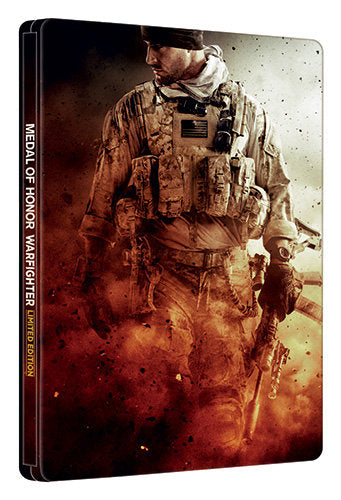 MEDAL OF HONOR WARFIGHTER Limited Edition Steelbook